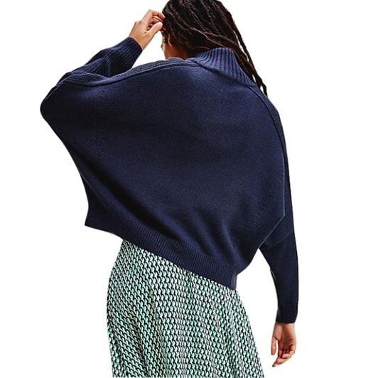 Tommy Hilfiger Zip-Up High-Nk Sweater L/S