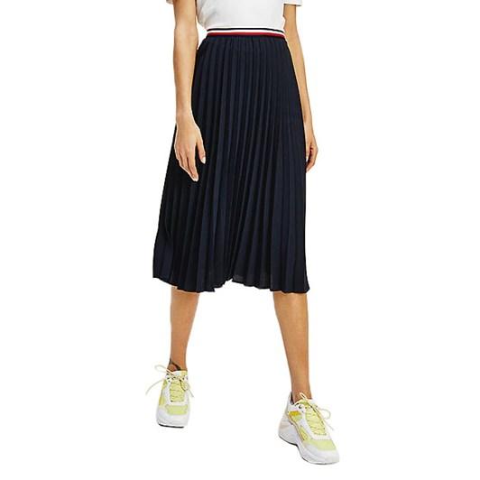 Tommy Hilfiger Crepe Pleated Gbl Midi Skirt