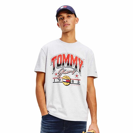 Tommy Jeans Varsity Bball Graphic Tee