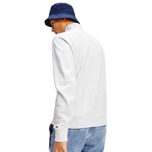Tommy Jeans Tonal Corp Logo Zip Mock