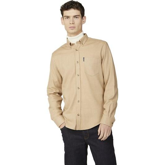 Ben Sherman Brushed Herringbone Shirt