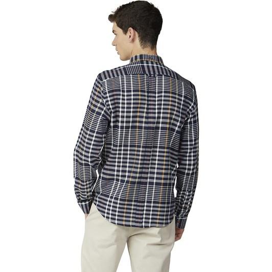 Ben Sherman Oversized Stripe Check Shirt