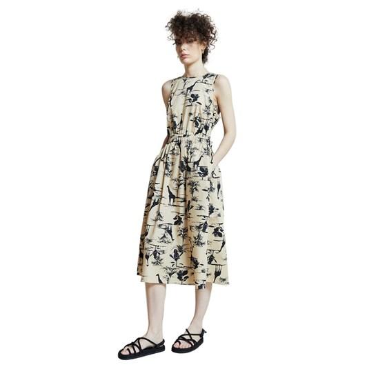 Hi There Karen Walker Safari Midi Dress