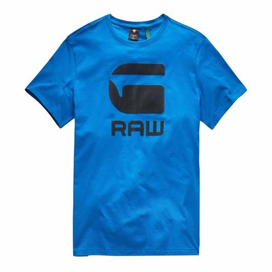 G-Star Flock Hamburger Logo R T-Shirt