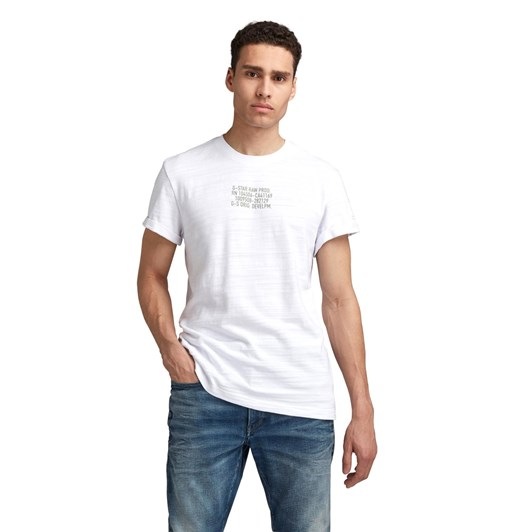 G-Star Chest Text Graphic R T-Shirt