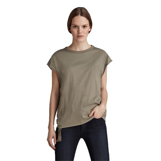 G-Star Gsraw Knot R T-Shirt W/ Cap Sleeve Wmn