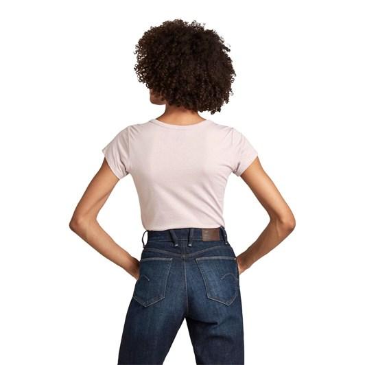 G-Star Eyben Slim V T-Shirt Wmn S\S