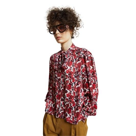 Karen Walker Julia Rose Shirt