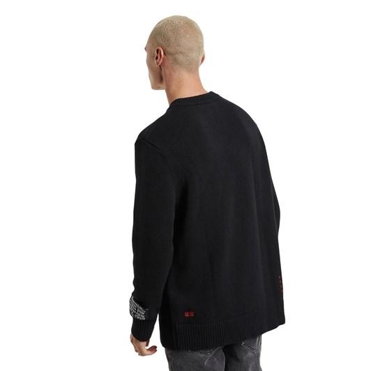 Ksubi Shakes Knit Black