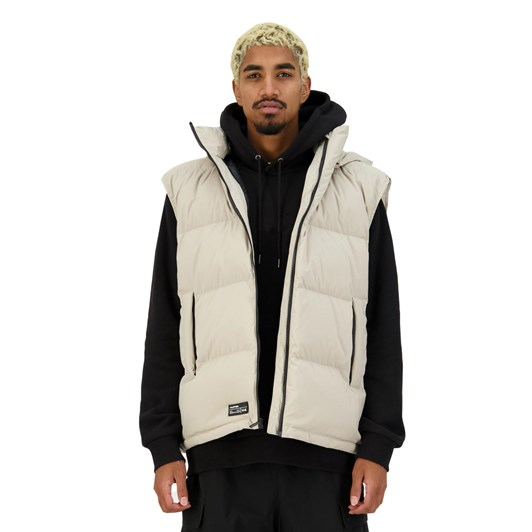 Huffer Mens Block Down Vest