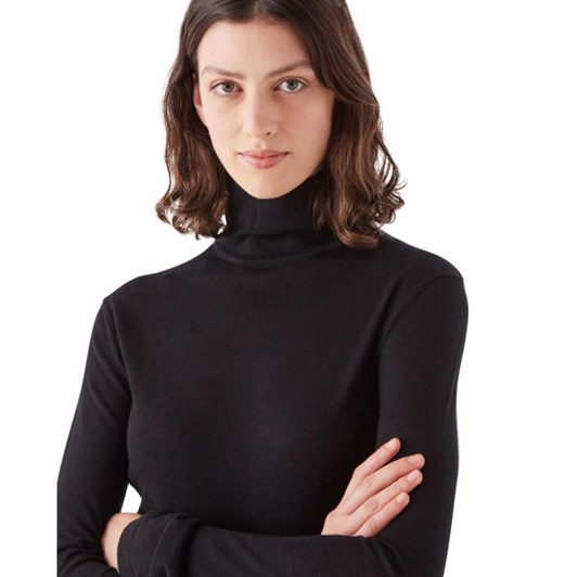Assembly Label Wool Roll Neck Knit