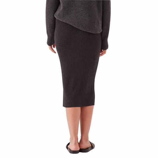Assembly Label Ella Midi Skirt Graphite Marle
