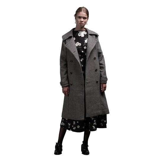 Salasai Blazonry Wool Coat