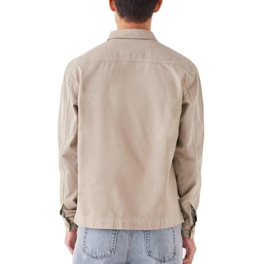 Assembly Label Hawke Jacket Washed Khaki