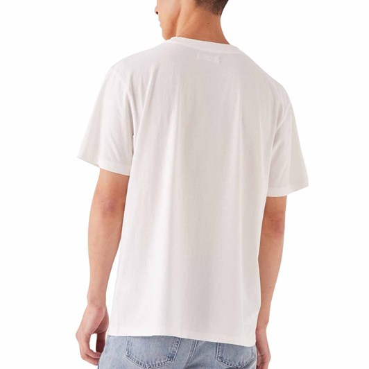 Assembly Label Mens Balance Tee Antique White Print