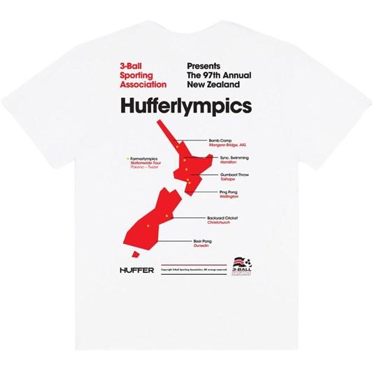 Huffer Mens Sup Tee/Hufferlympics