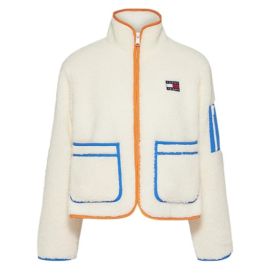 Tommy Jeans Contrast Sherpa Jacket