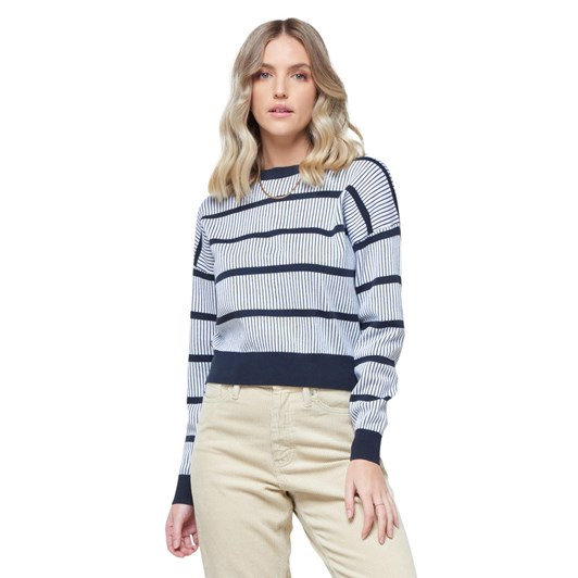 Superdry Cropped Jaquard Knit