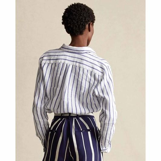 Polo Ralph Lauren Relaxed Fit Striped Linen Shirt