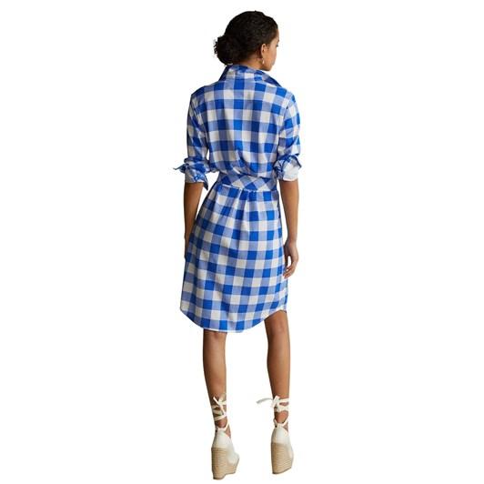 Polo Ralph Lauren Plaid Cotton Oxford Shirtdress