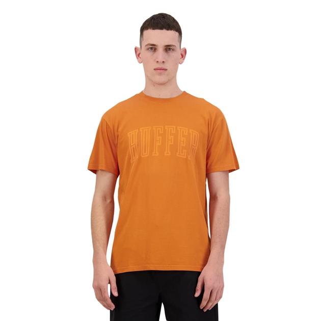 Huffer Mens Sup Tee/Mono - orange