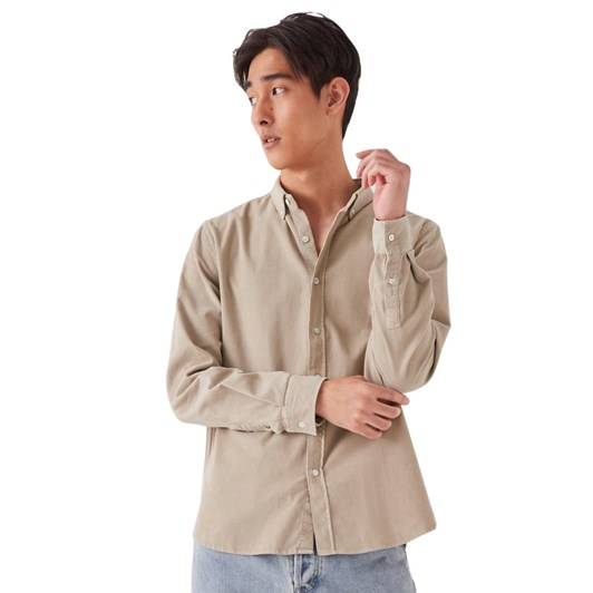 Assembly Label Mens Cord Shirt