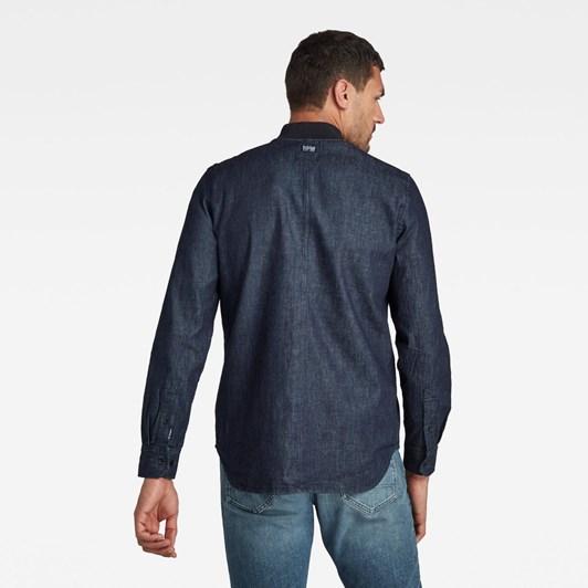 G-Star Bomber Collar Regular Shirt L/S