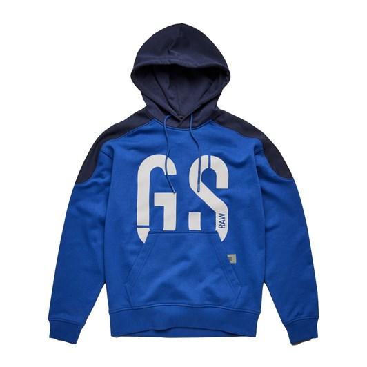 G-Star 89 Logo Block Hooded Sweatshirt