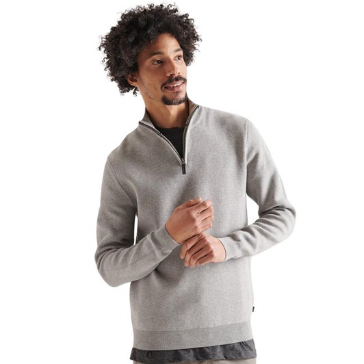 Superdry Cotton Knit Henley