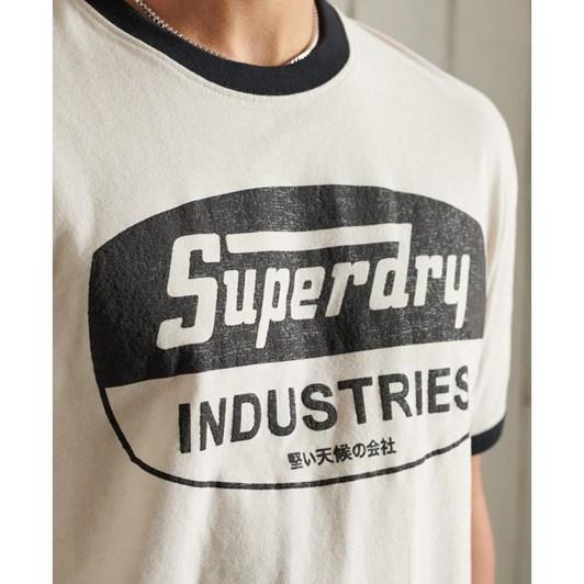 Superdry Boho Ringer Graphic Tee