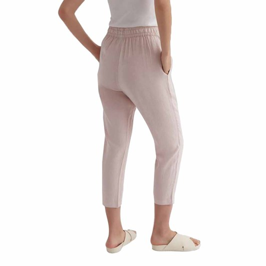Assembly Label Anya Linen Pant Pink Clay