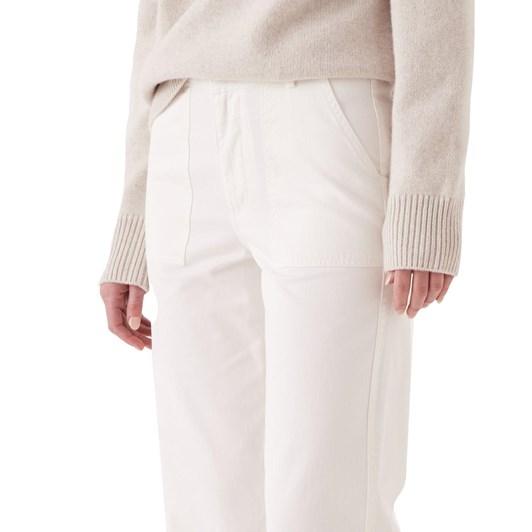Assembly Label Harper Pant Antique White