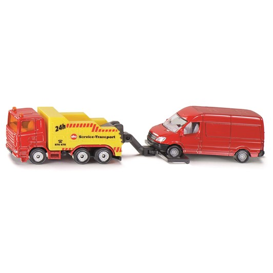Siku Scania Heavy Breakdown Truck - with Sprinter Van
