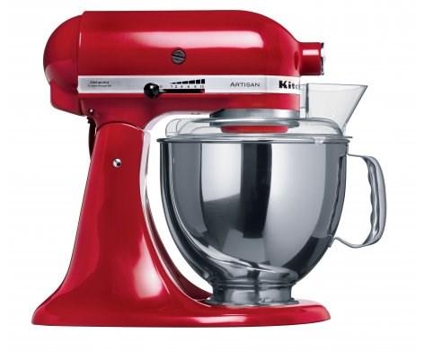 KitchenAid KSM150 Empire Red Artisan Mixer