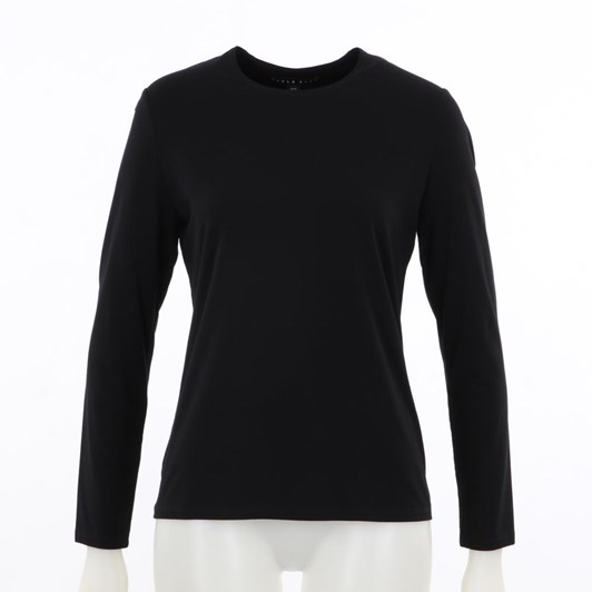 Paula Ryan Easy Fit Long Sleeve Crew Neck