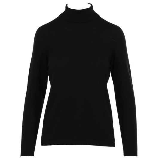 Royal Merino Slightly Shaped Long Sleeve Polo Neck