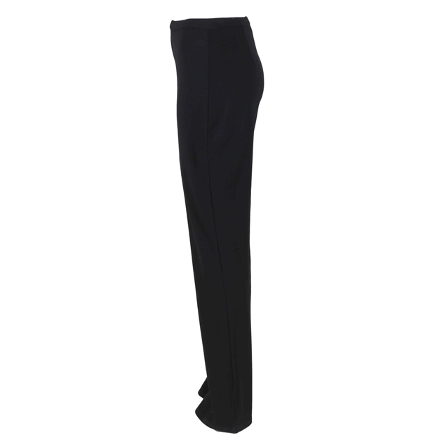 Paula Ryan Merino Slim Leg Tailored Pant - black