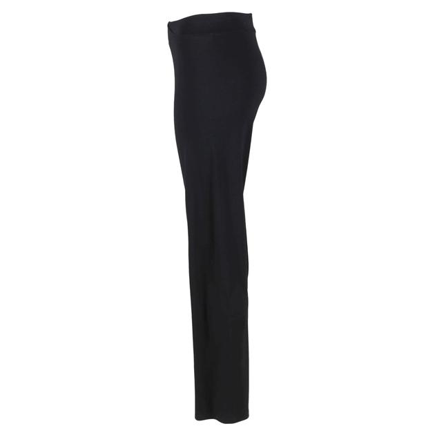Paula Ryan Merino Slim Leg  Slouch Pant - black