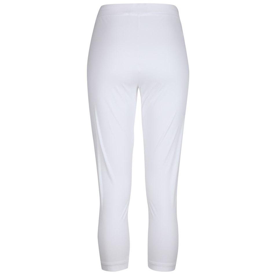 Paula Ryan Essentials Capri Legging - white