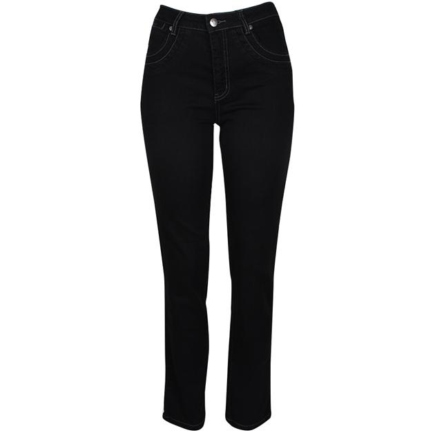 Vassalli Slim Leg Jean - black