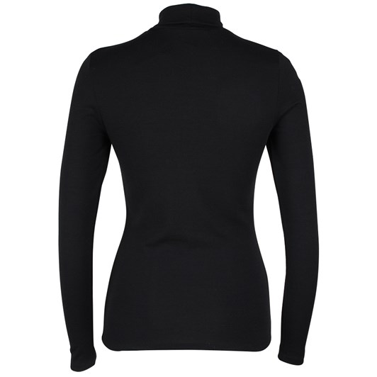 Paula Ryan Slim Fit Long Sleeve Merino Polo Neck
