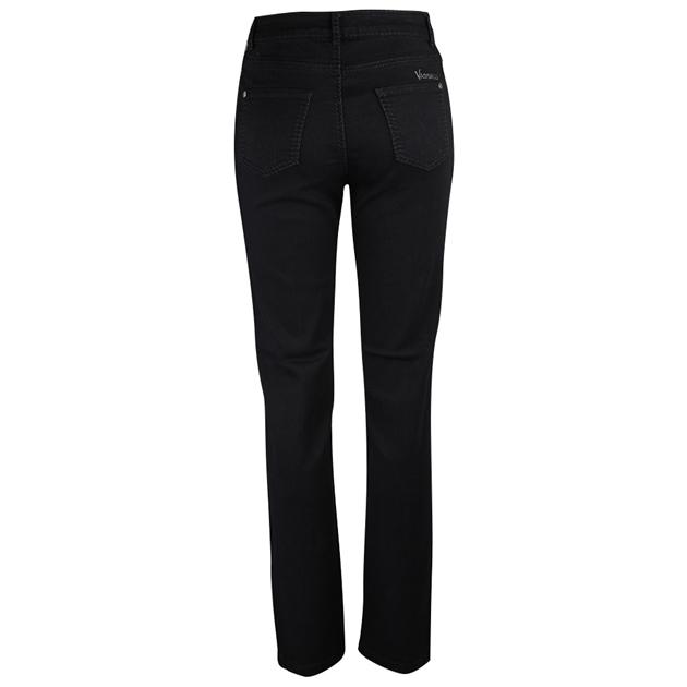 Vassalli Slim Leg Jean With Heavy Top Stitch -