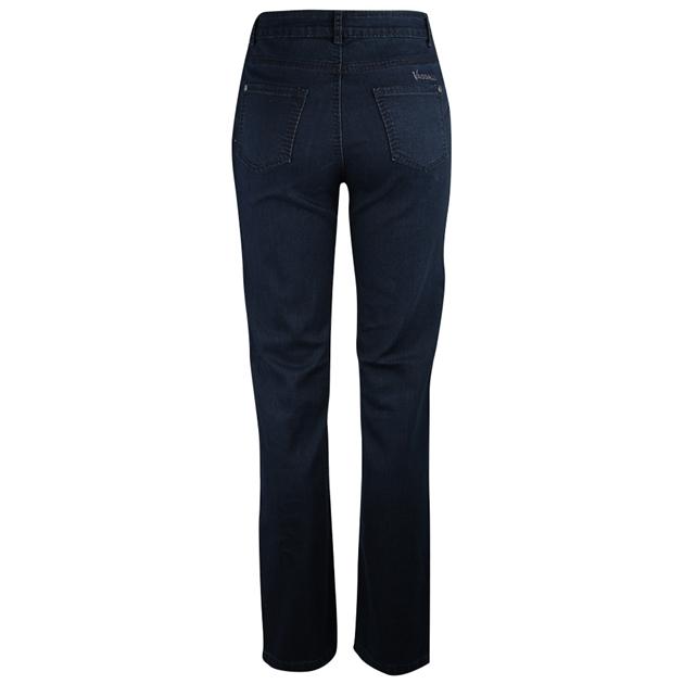 Vassalli Slim Leg Jean With Heavy Top Stitch - indigo