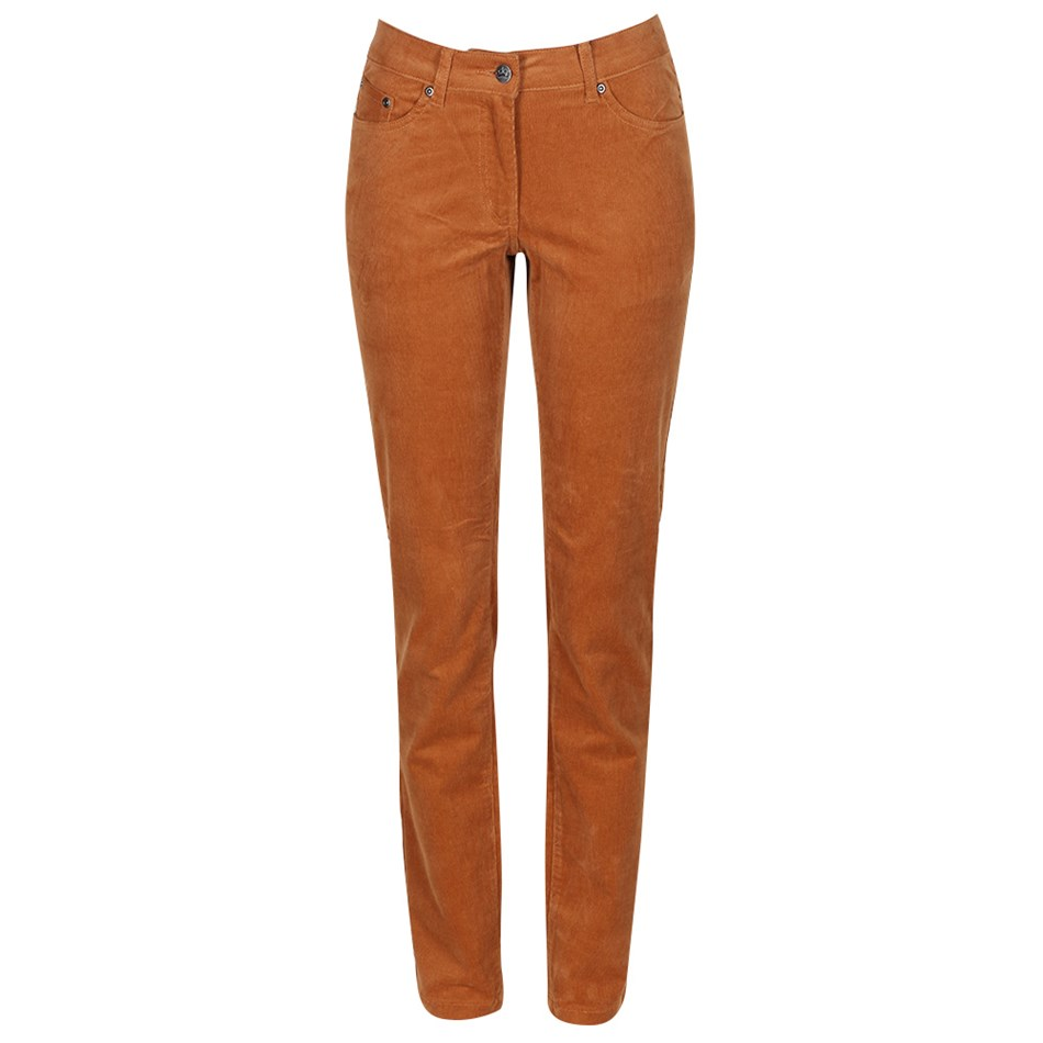 PJ Jeans Straight Leg Royal Cord 5 Pocket Jean - caramel