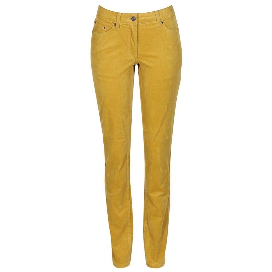 PJ Jeans Slim Leg Royal Cord 5 Pocket Jean - chartreuse