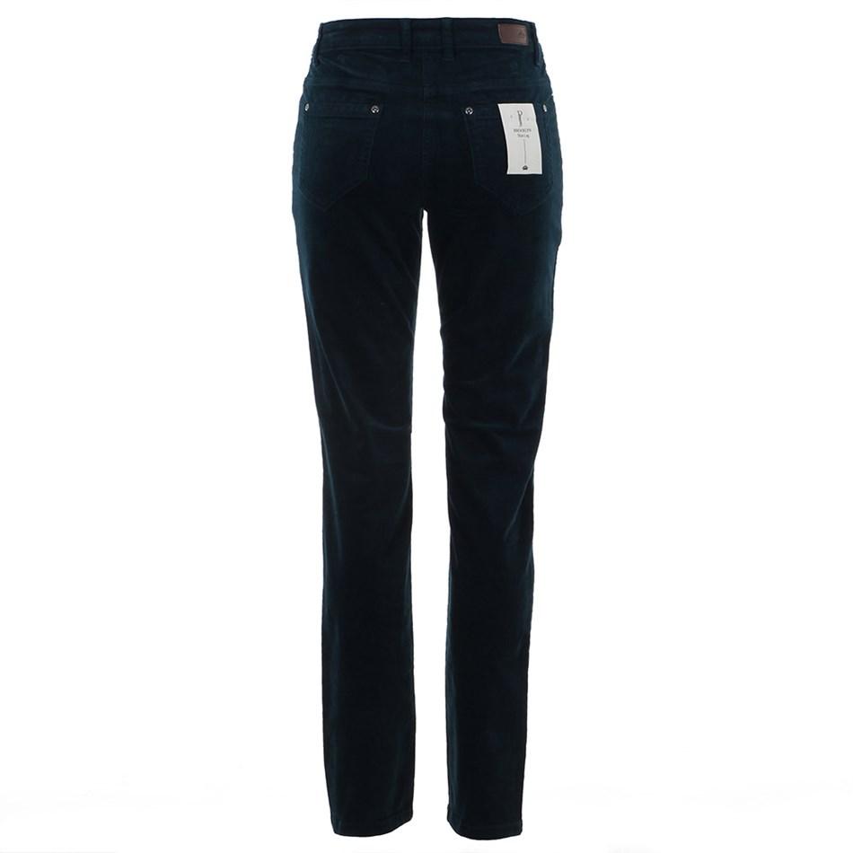 PJ Jeans Slim Leg Royal Cord 5 Pocket Jean - dark teal