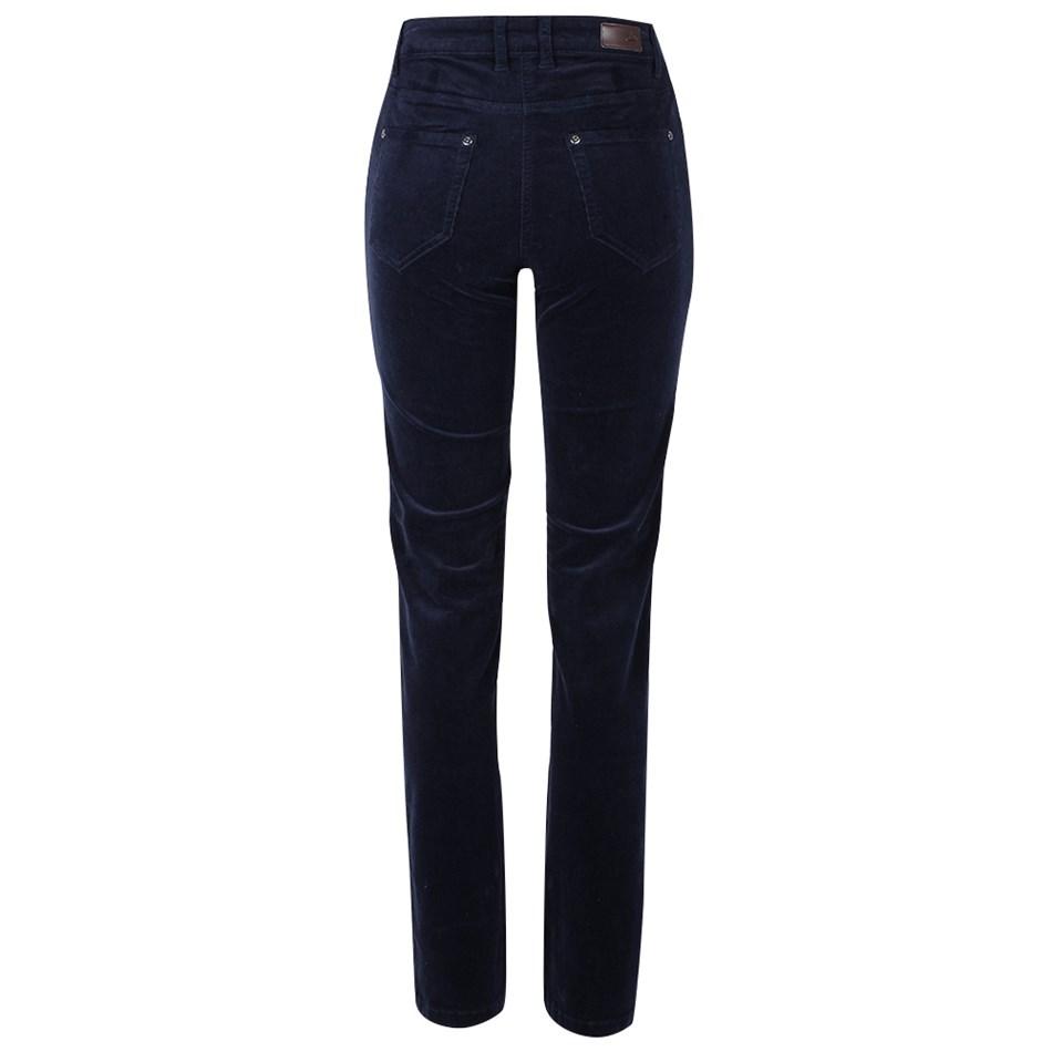 PJ Jeans Slim Leg Royal Cord 5 Pocket Jean - navy