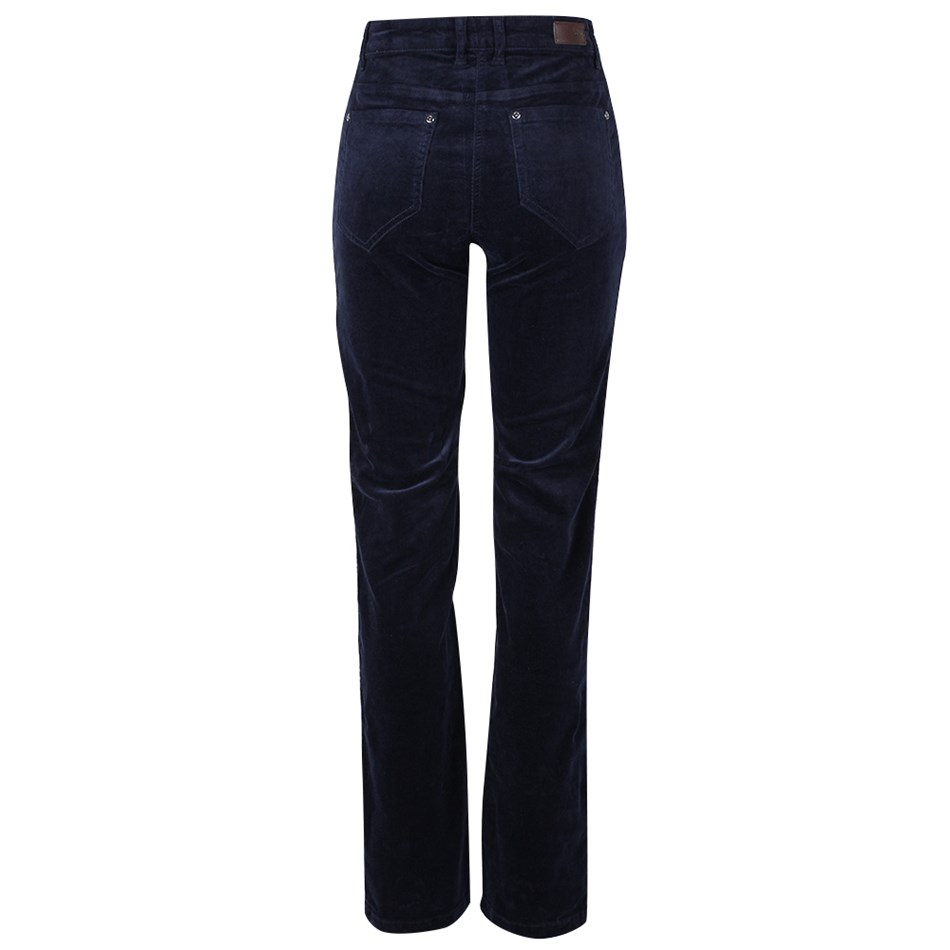 PJ Jeans Straight Leg Royal Cord 5 Pocket Jean - navy