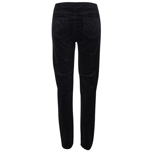 Vassalli Skinny Leg Cord Pull On - black