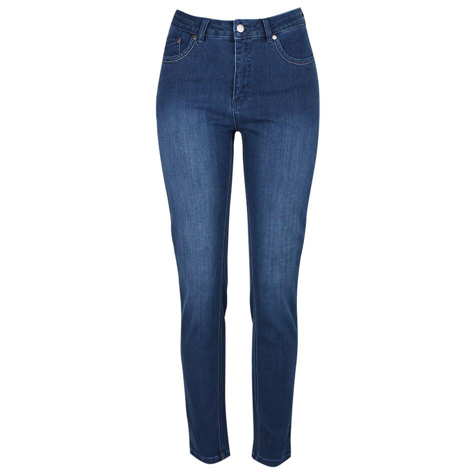 Vassalli 5 Pocket Skinny Jean - denim